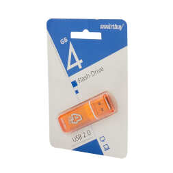 4 GB Smart Buy Glossy series Orange
