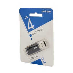 4 GB Smart Buy V-Cut Black
