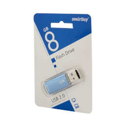 8 GB Smart Buy V-Cut Blue